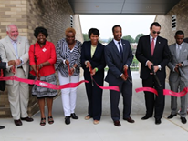 Dunbar High School Field  and Stadium Ribbon Cutting on Friday, August 22, 2014