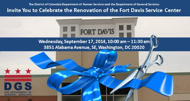 Fort Davis Service Center Ribbon Cutting September 17, 2014