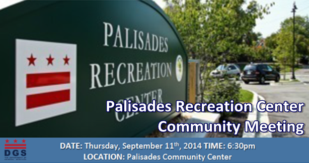 Palisades Recreation Center Community Meeting 9-11-14