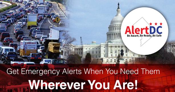 Sign Up For Alerts. AlertDC