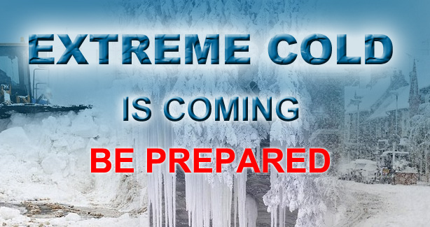 Extreme Cold Be Prepared