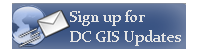 Subscribe to DC GIS Updates
