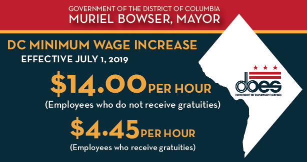 2019 Minimum Wage Increase