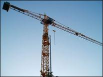 Image of tall construction crane