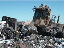 photo of landfill