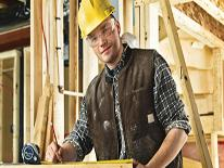 A construction worker